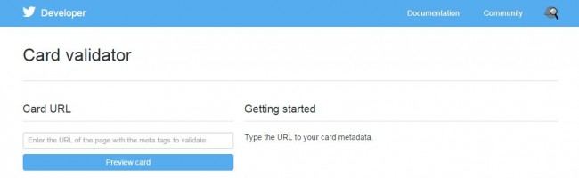 Card Validator   Twitter Developers